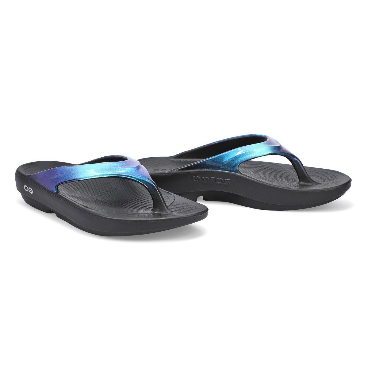 Women's Oolala Luxe Sandal - Black/Atlantis