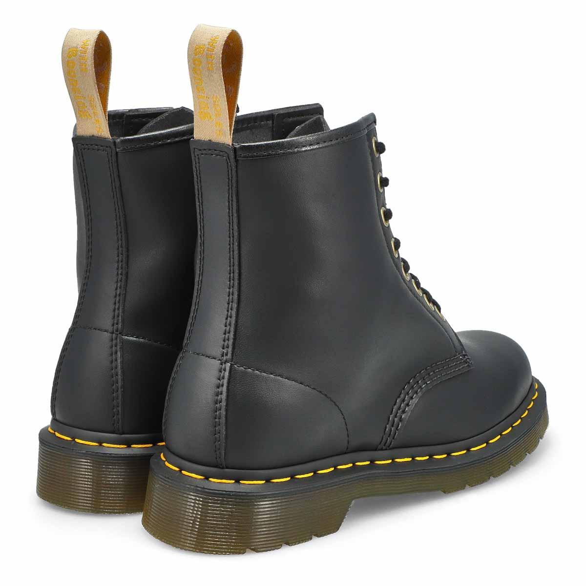 Women's Vegan 1460 8-Eye Smooth Boot - Black