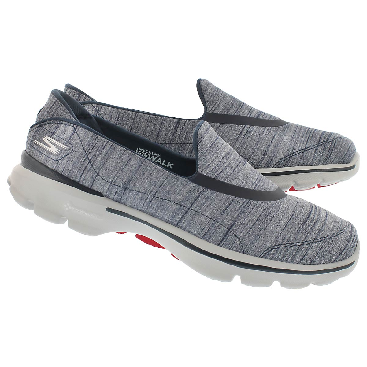 Lds GOwalk 3 navy walking shoe