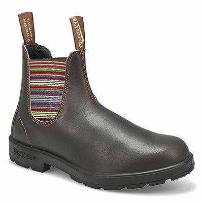 Lds Original stout brn pull on boot