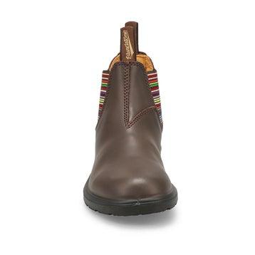 Kids' BLUNNIES brown multi twin gore boots