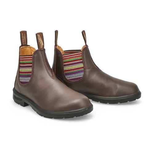 Kids Blunnies brown multi twin gore boot