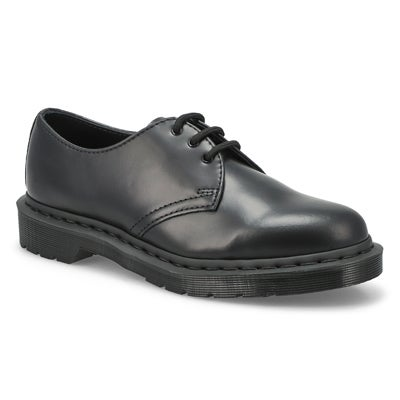Mns 1461 Mono Lace Up Casual Oxford- Blk