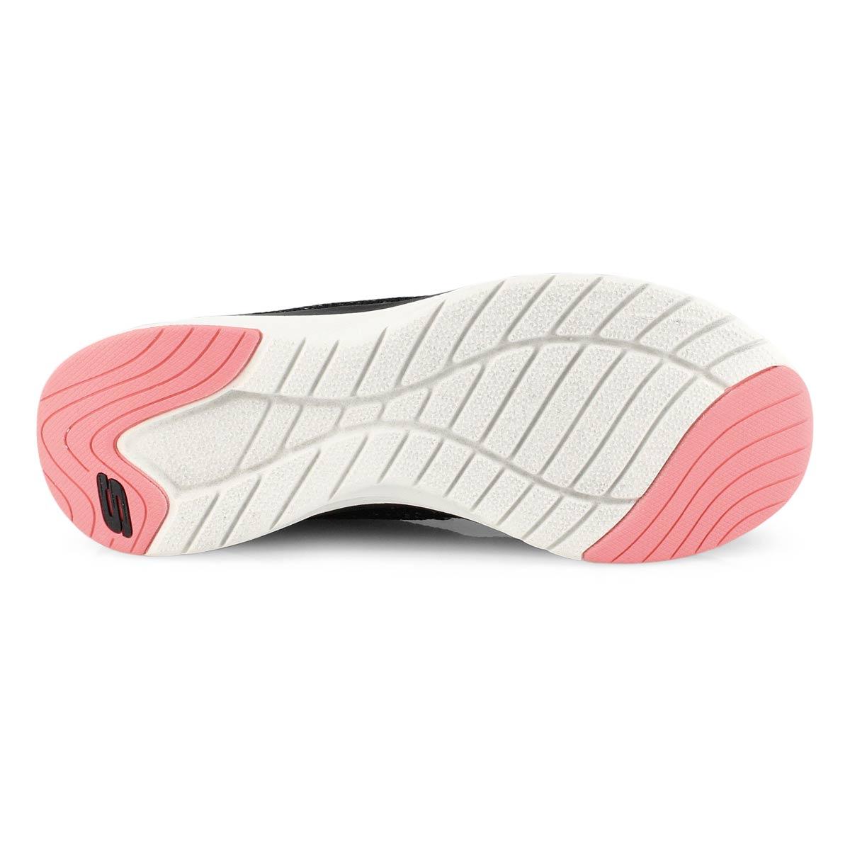 Women's Ultra Groove Sneaker - Black/Pink