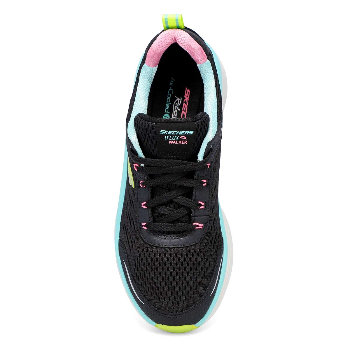 Women's D'Lux Walker Infinite Motion Sneaker - Blk