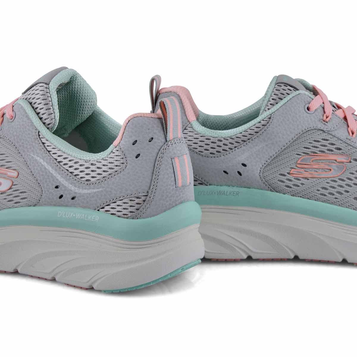 Women's D'Lux Walker Infinite Motion Sneaker - Gry