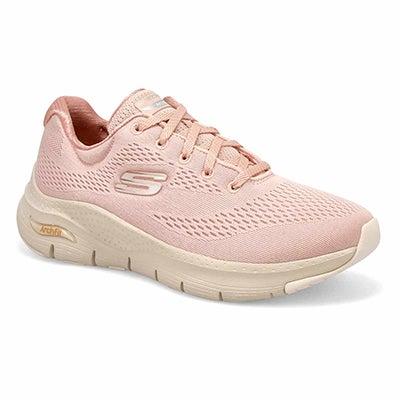 Lds Arch Fit Big Appeal Sneaker -Lt Pink