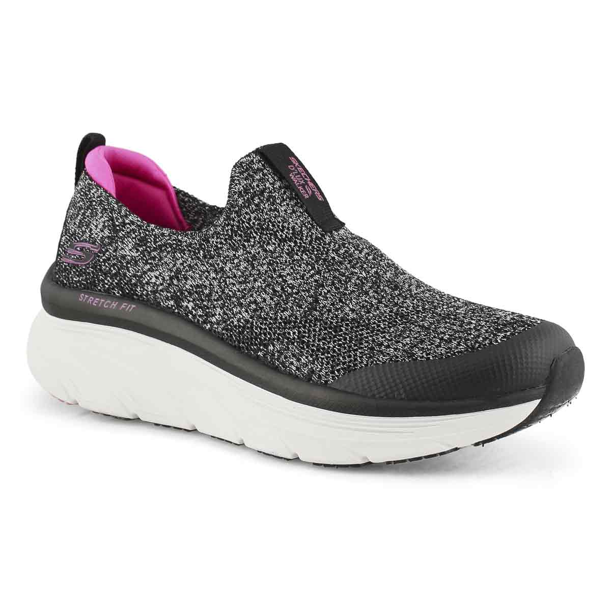 Women's 'Lux Walker Quick Upgrade Sneaker - Blk/Pk