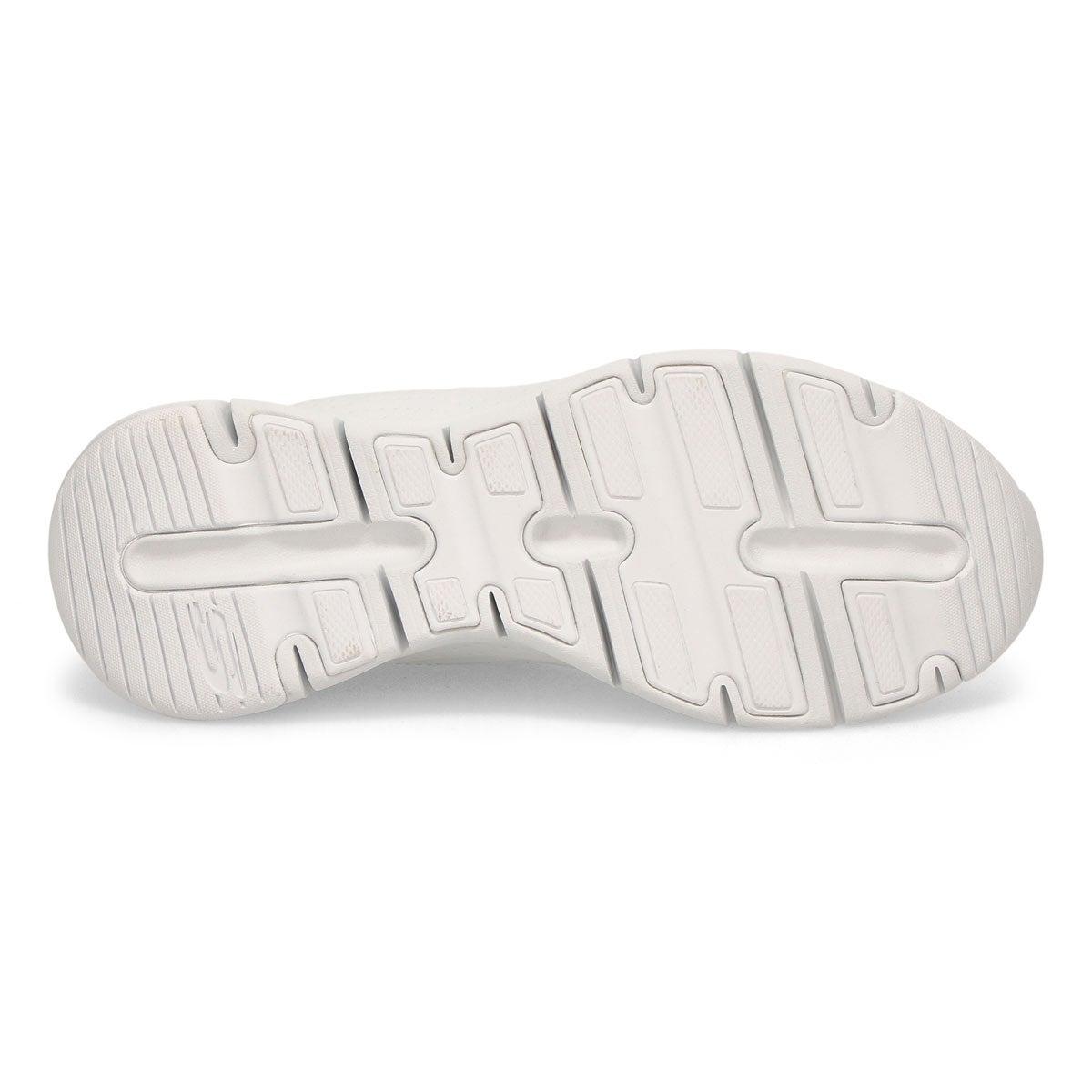 Women's Arch Fit Citi Drive Sneaker - White/Sliver