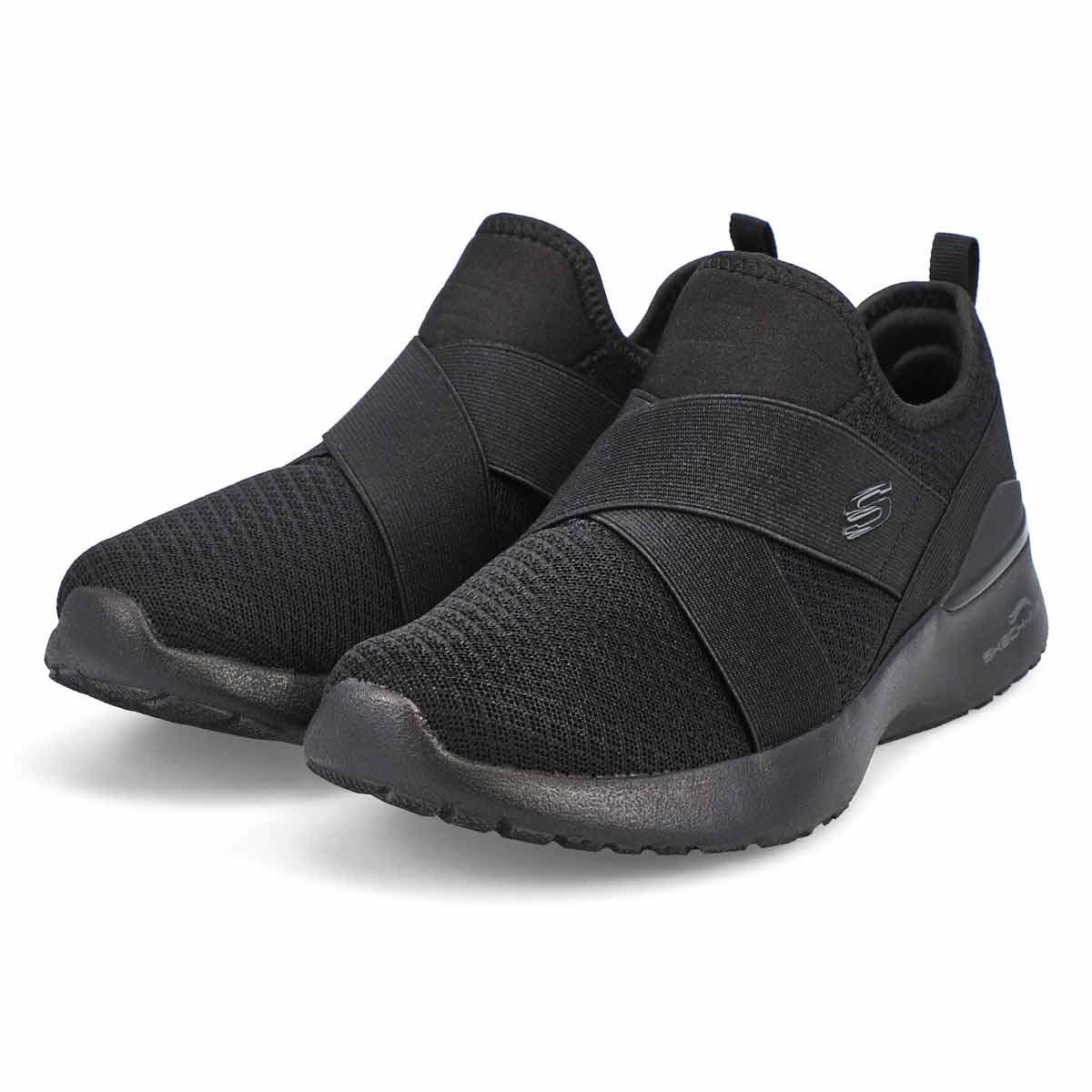 Women's Skech-Air Dynamight Sneaker - Black