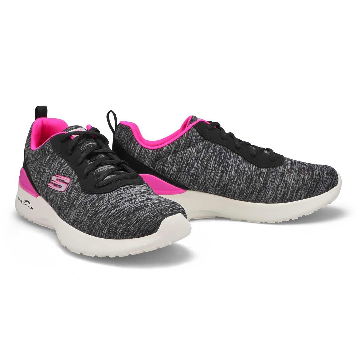 Women's Dynamite Paradise Waves Wide Sneaker-Bk/Pk