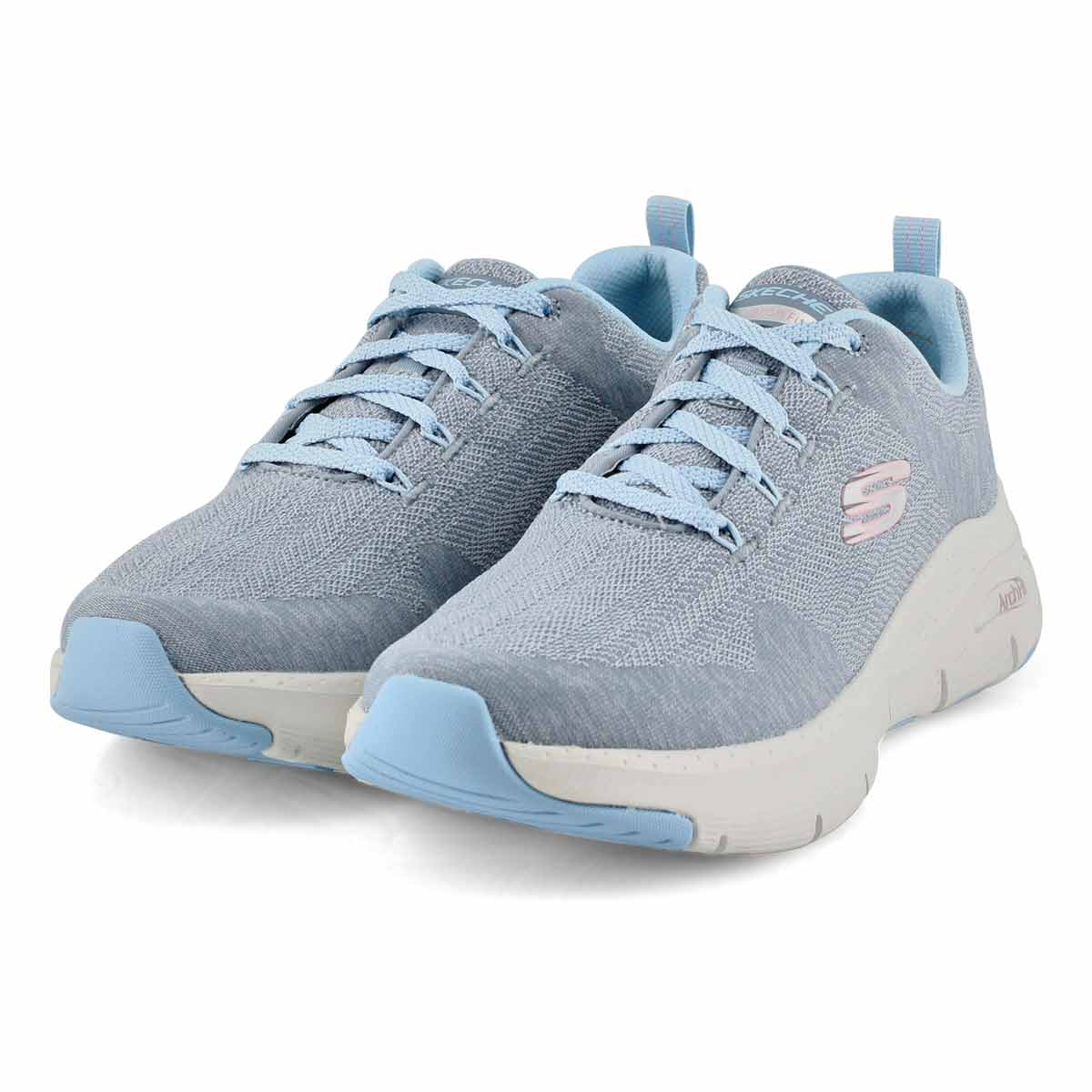Women's Arch Fit Comfy Wave sneakers -  slate blue