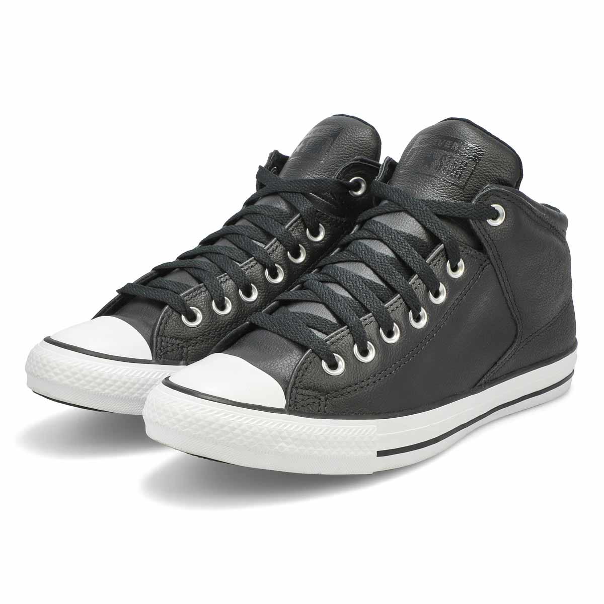 Men's All Star High Street Hi Top Leather Sneaker