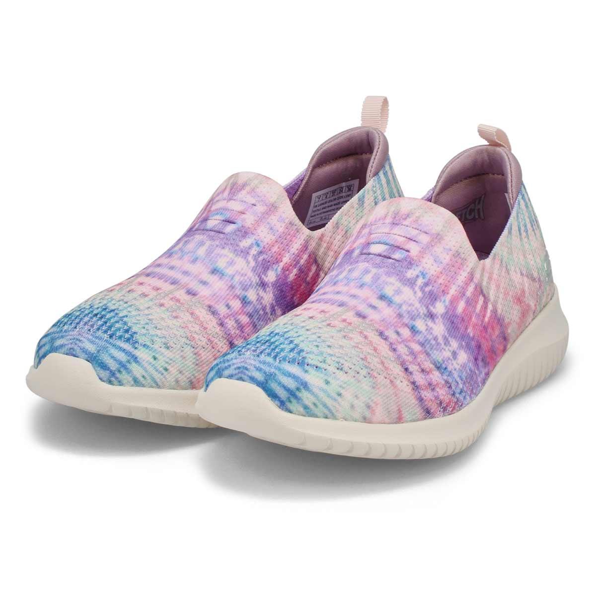 Women's Ultra Flex Sneaker - Lavender/Multi