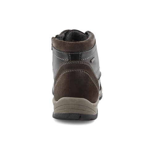 Mns Lenny 50 blk wtpf lace up ankle boot