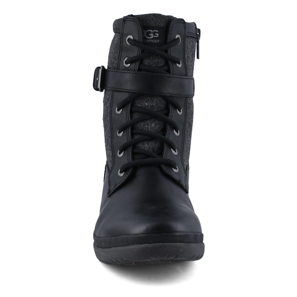 Women's Kesey  Waterproof Lace Up Boot - Blk