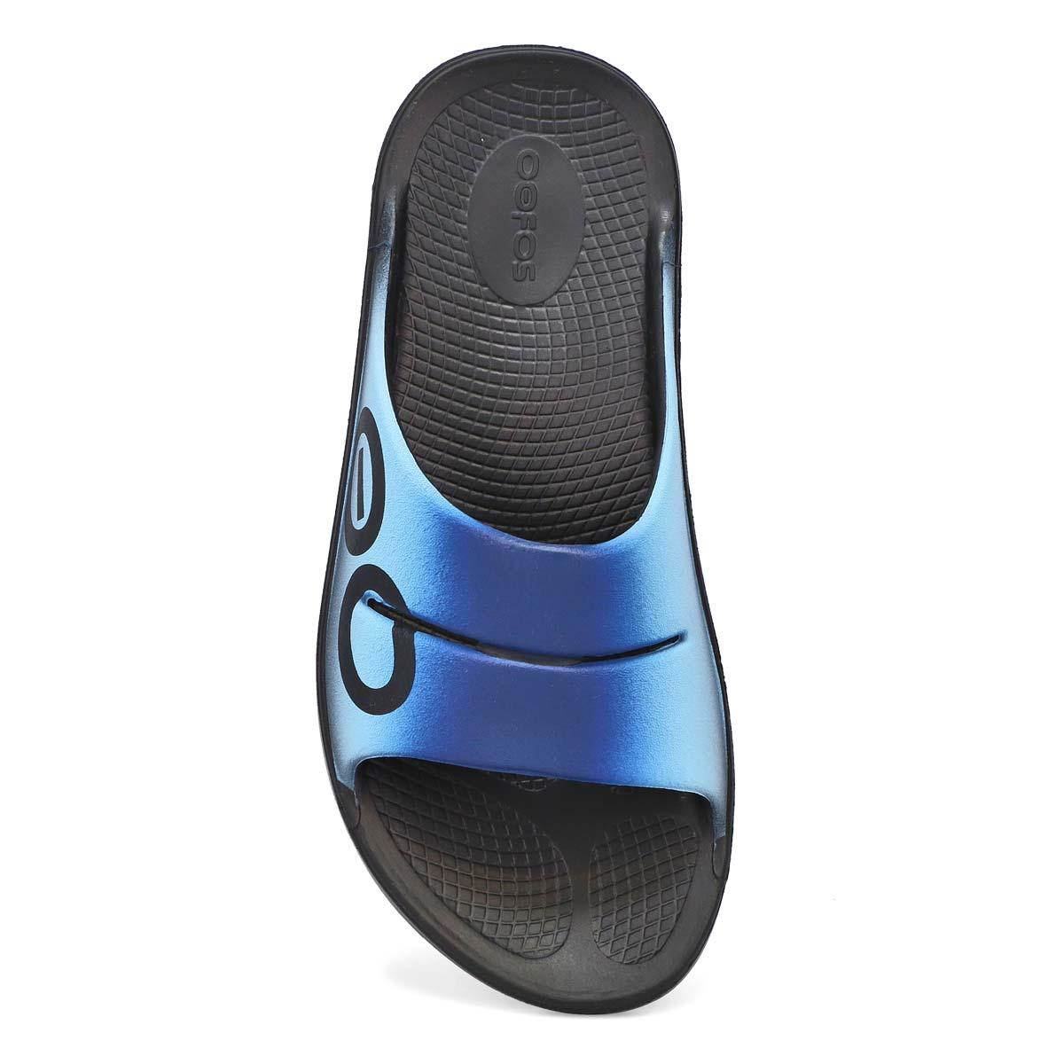 Women's Ooahh Sport Flex Sandal - Black/White