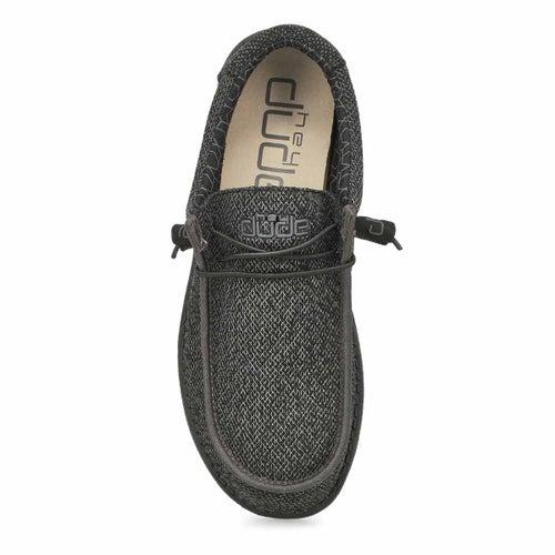 Chaussure, Wally Sox Micro,noir, hommes