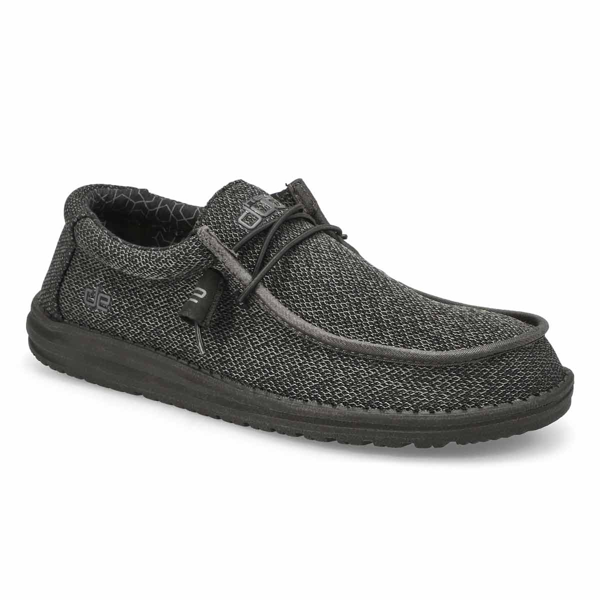 Men's Wally Sox Micro Casual Shoe - Black