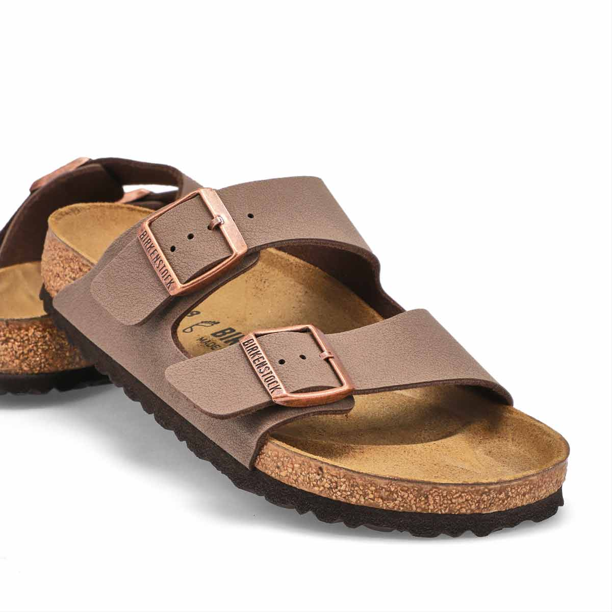 Sandales 2brides ARIZONABF, moka, femmes