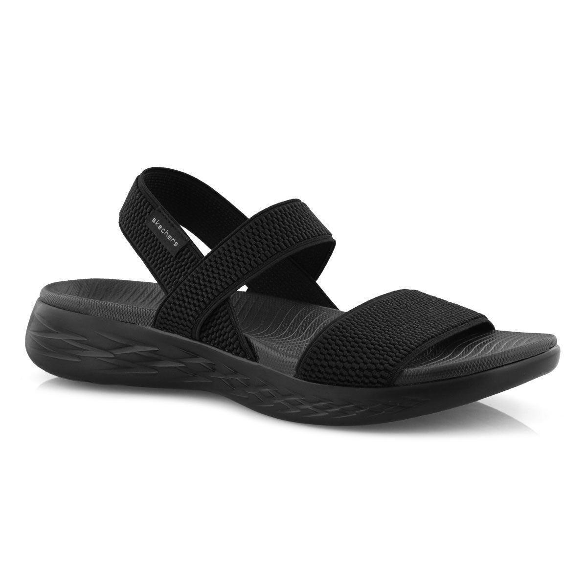 Sandales sport, ON-THE-GO 600, noires, femmes