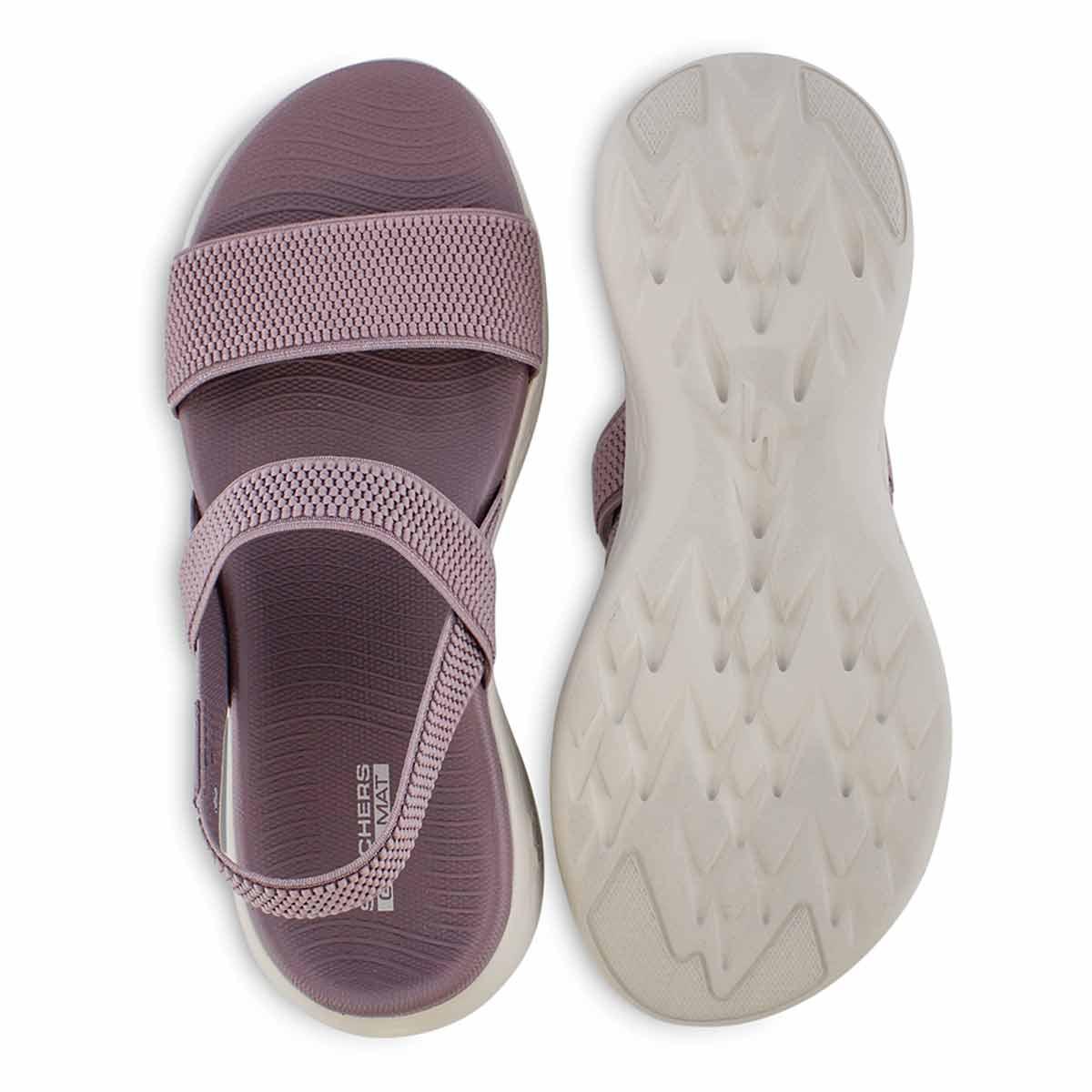Sandales sport, ON-THE-GO 600, mauves, femmes