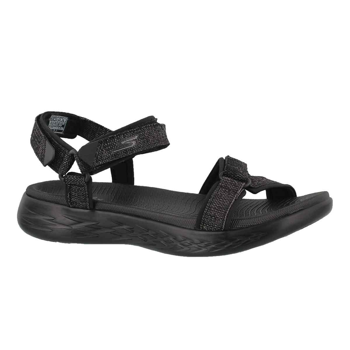 Sandale sport On-The-Go 600, nr, fem-Lrg