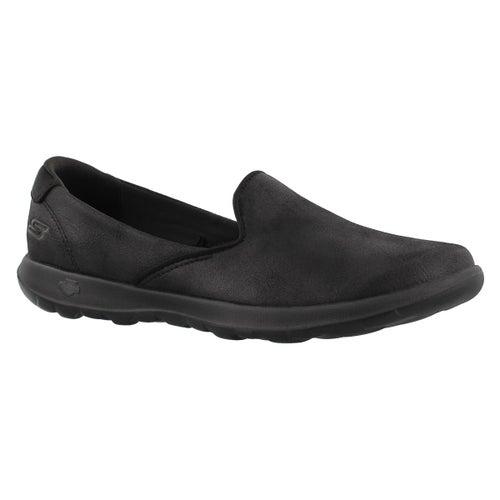 Lds GOwalk Lite Queenly bk slip on shoe