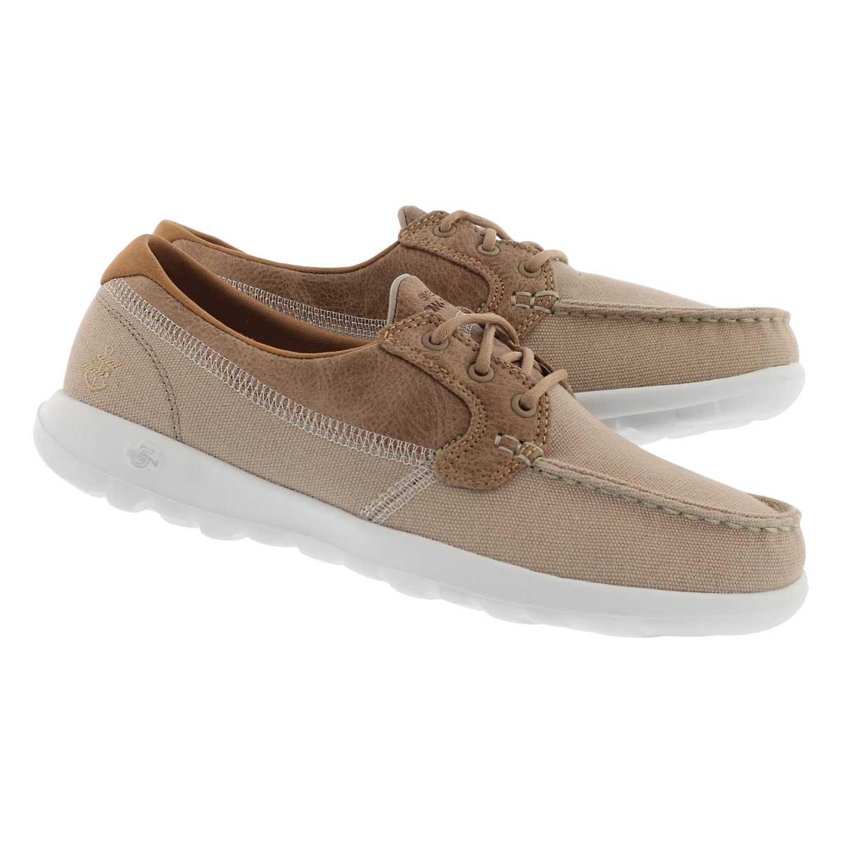 Chaussures bateau GO WALK LITE, naturel, femmes
