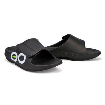Men's Ooahh Sport Flex Sandal - Black/White
