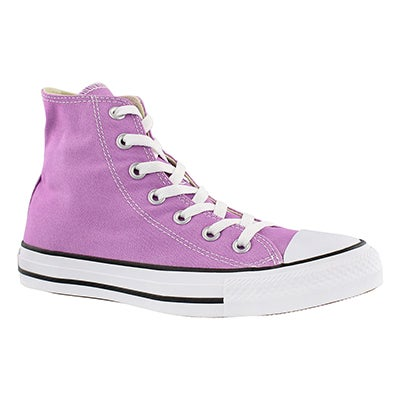 Converse Women's CT ALL STAR SEASONAL fushia glow hi tops