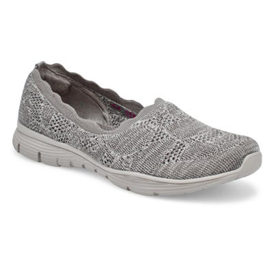 Lds Seager Bases Covered Slip On- Gry