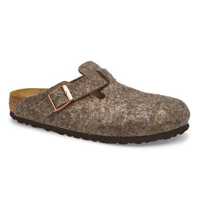Ladies Boston Wool Clog - Cocoa