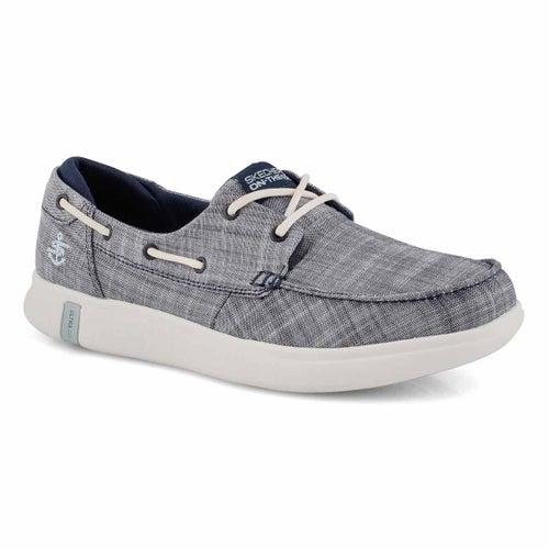 Lds Glide Ultra Waves navy boat shoe