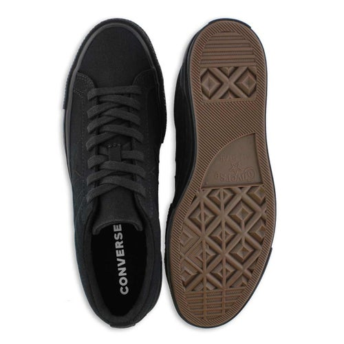 Mns One Star blk/blk fashion snkr
