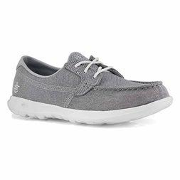 Lds GOwalk Lite grey boat shoe