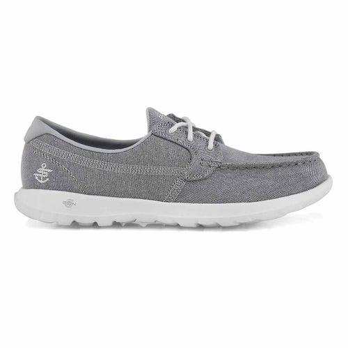 Chaussures bateau GO Walk Lite, gris,fem