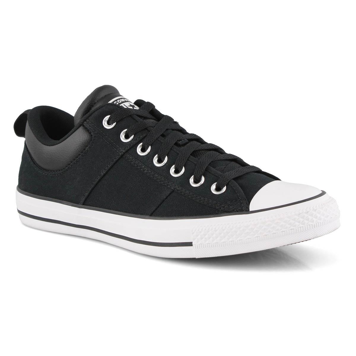 Men's All Star CS Sneakers -Black/White