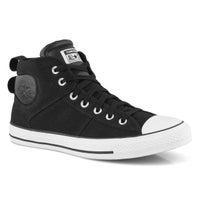 Men's All Star CS Hi Top Sneaker -Black/White