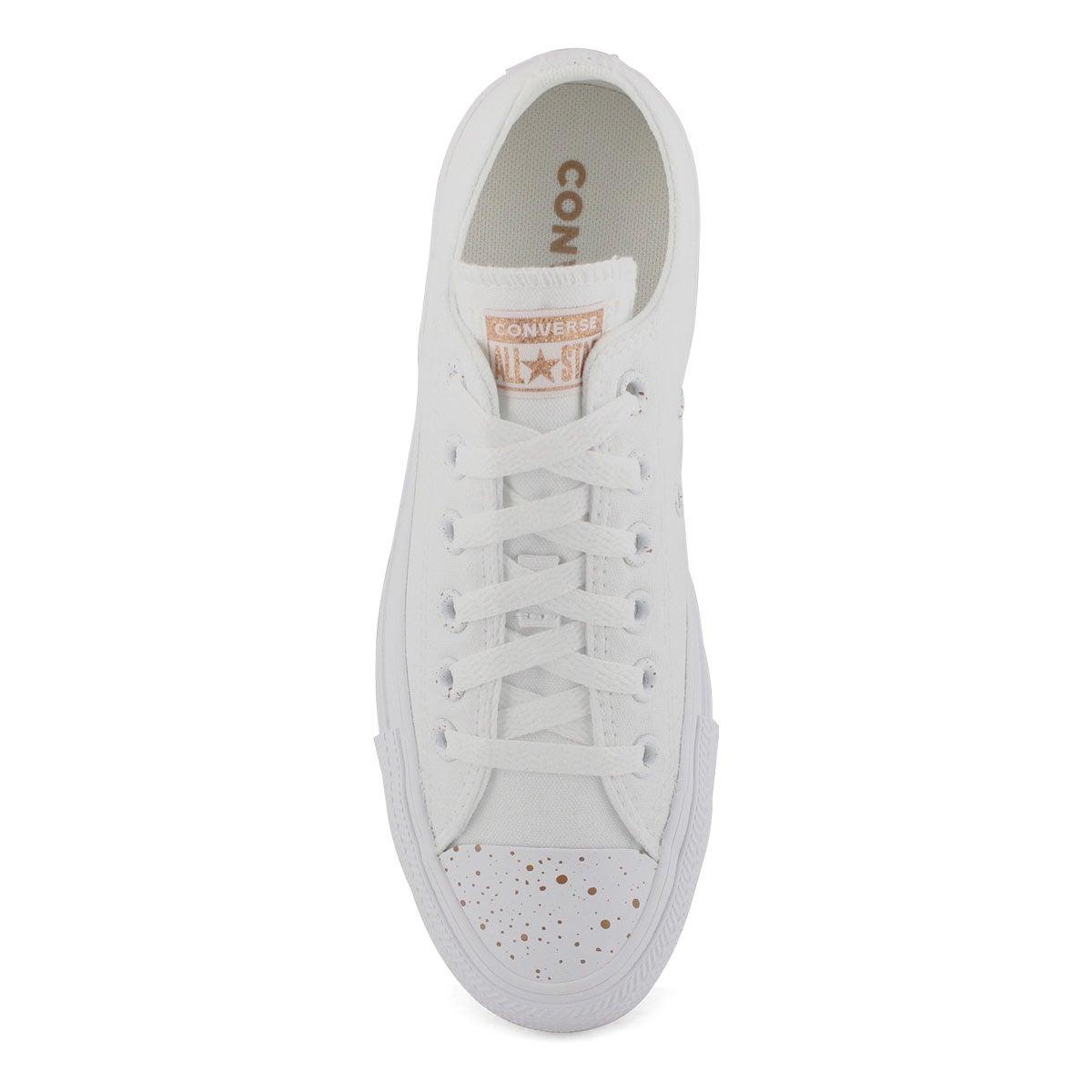 Women's All Star Precious Metals Sneaker - Wht/Wht