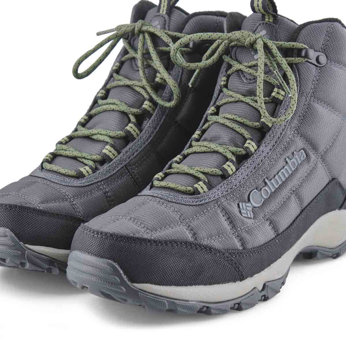 Men's Firecamp OmniTech Waterproof Boot - Gry/Grn