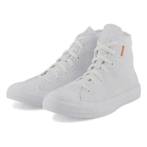 Lds CTAS white/lemon/black hi top snkr