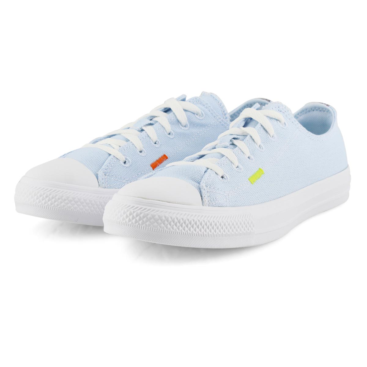 Women's All Star Seasonal Sneaker - Blue/Lemon