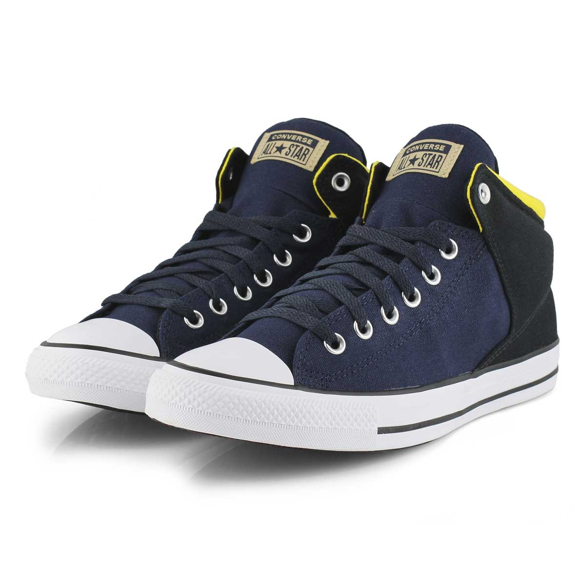 Mns CT A/S High Street blk/yellow hi top