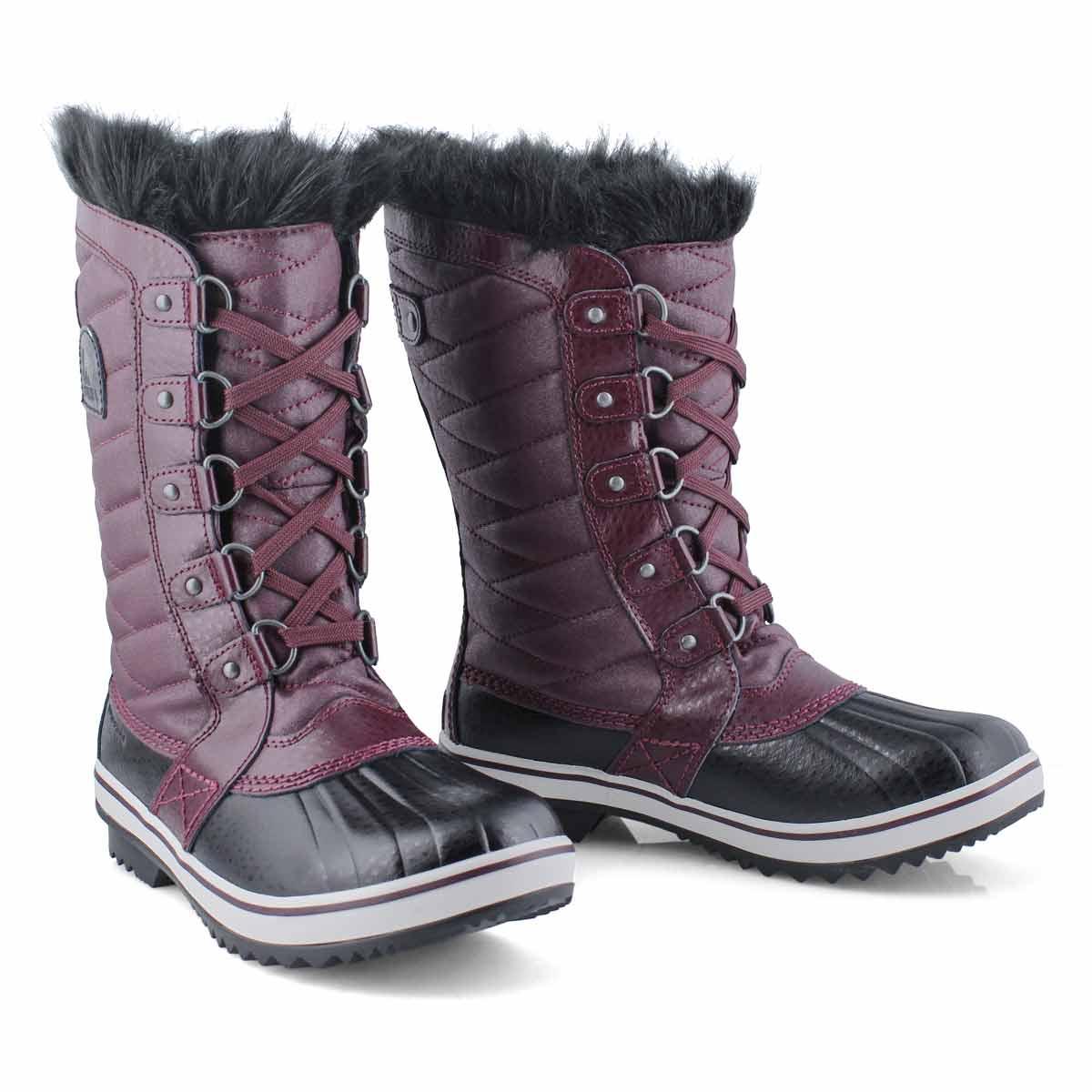 Grls Tofino II plum wtpf winter boot