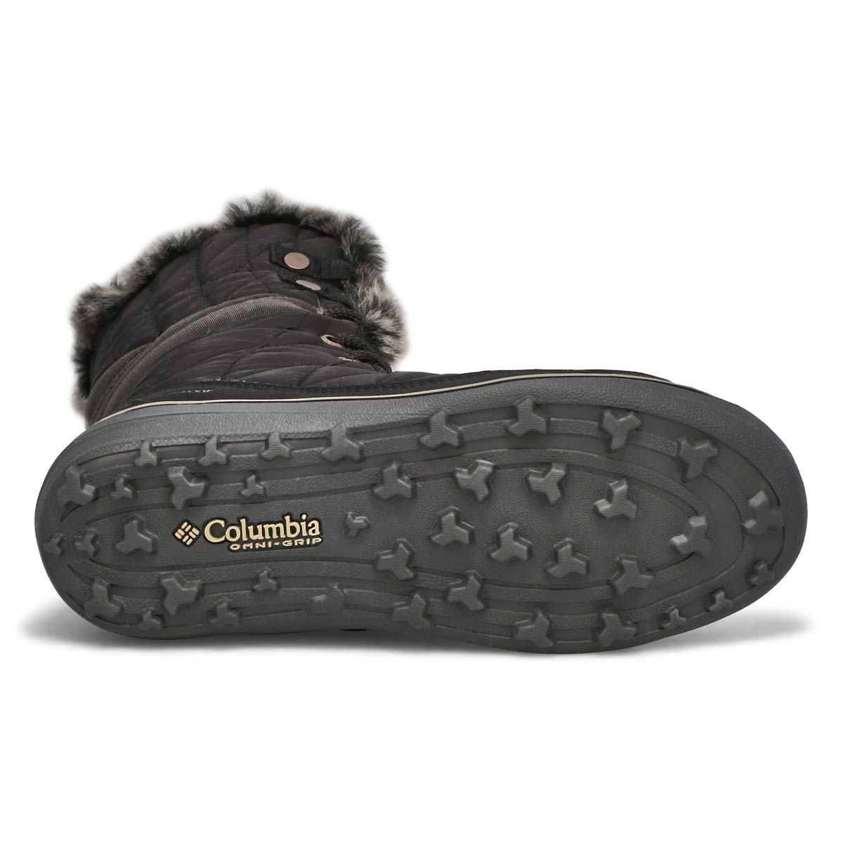 Lds Heavenly OmniHeat blk tall snow boot