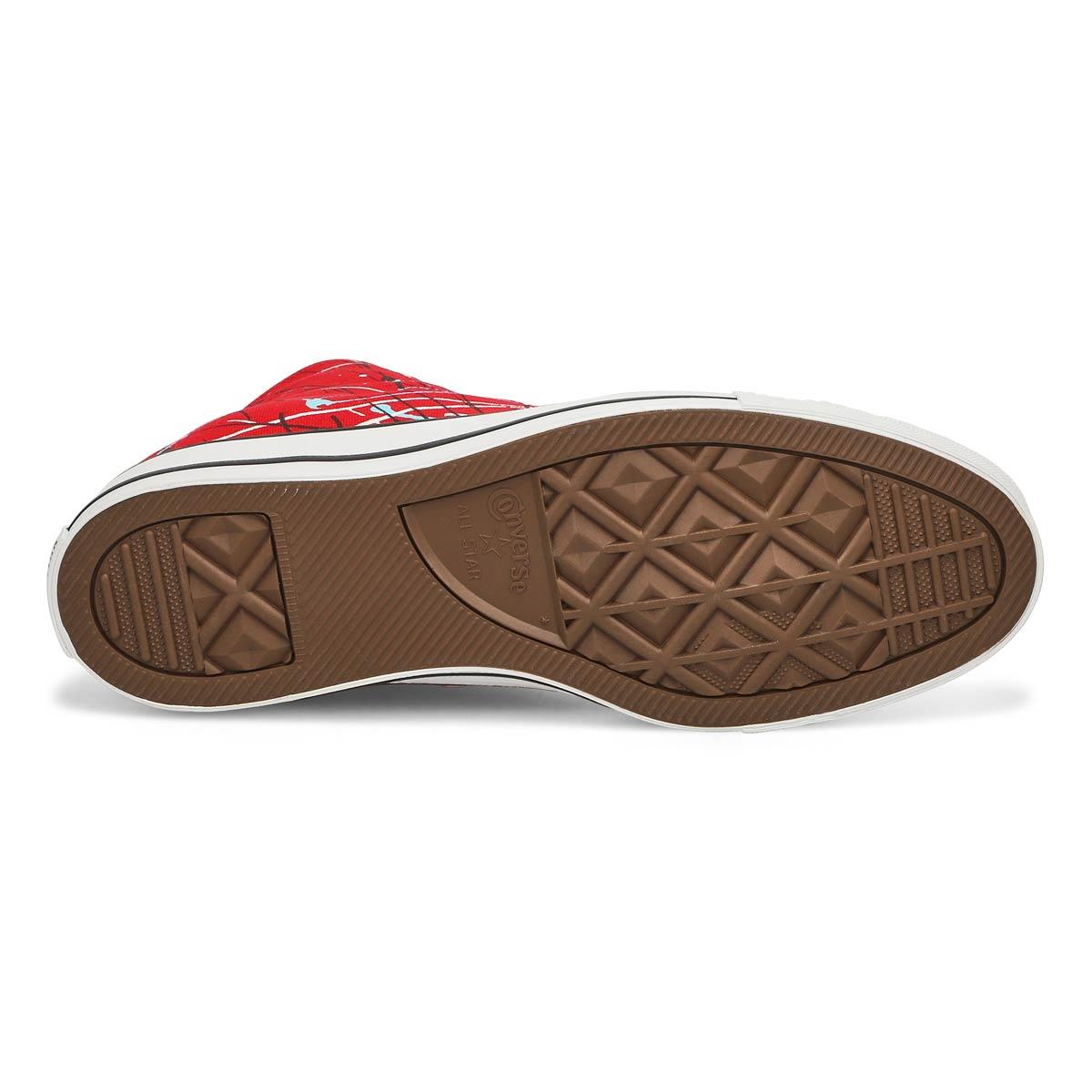 Men's All Star Paint Splatter Hi Top Sneaker