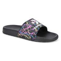 Men's All Star Splatter Slide Sandal - Black/Multi