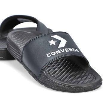 Women's All Star Slide Sandal - Black/White