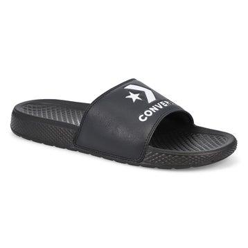Men's All Star Casual Slide Sandal - Black/White